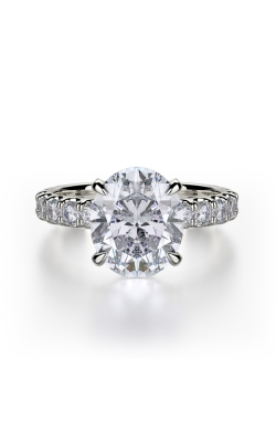 Michael M Crown Engagement Ring R731-3 product image