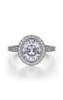 Michael M Defined Engagement Ring R737-2-OV product image