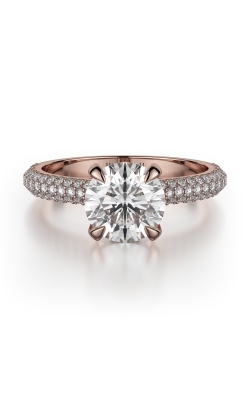 Michael M Crown Engagement ring R707-2 product image