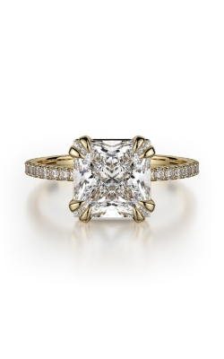 Michael M Crown Engagement ring R715-2P product image