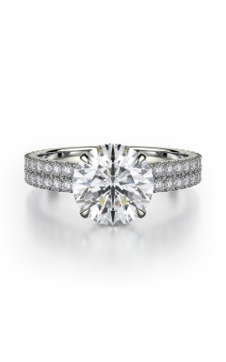 Michael M Crown Engagement Ring R747-2 product image