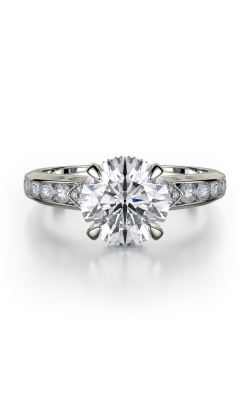Michael M Crown Engagement ring R748-2 product image