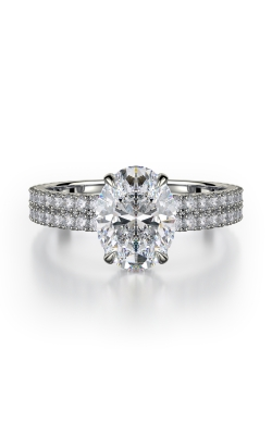 Michael M Crown Engagement ring R746-2 product image