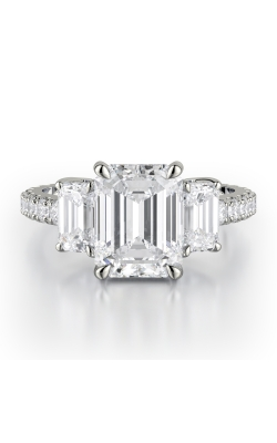 Michael M Trinity Engagement Ring R767-2.5 product image