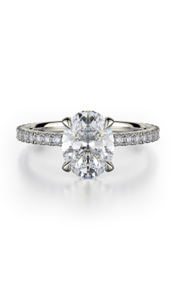 Michael M Crown Engagement Ring R753-2 product image
