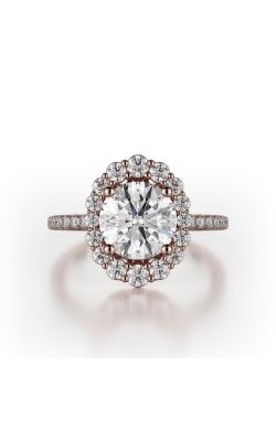 Michael M Defined Engagement Ring R739-1.5 product image