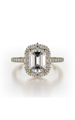 Michael M Defined Engagement ring R739-2EM product image