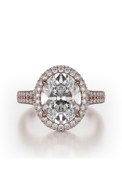 Michael M Defined Engagement Ring R778-3 product image