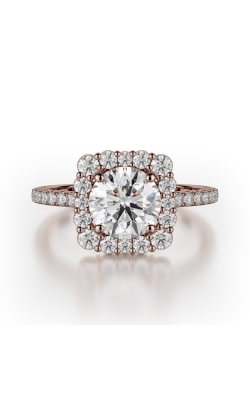 Michael M Defined Engagement Ring R784-2 product image