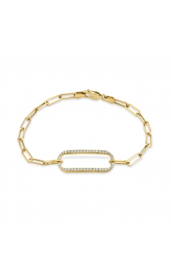 Michael M Link Pave Singleton Bracelet BR356 product image