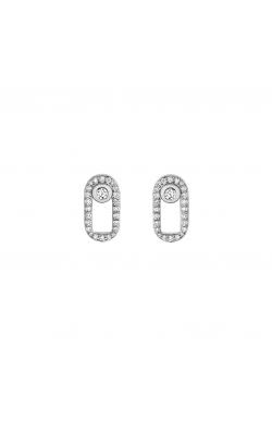 Michael M Link Pave Singleton Stud Earrings ER354PV product image