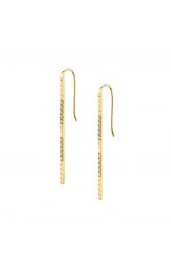 Michael M Tetra Pave Foundation Bar Earrings  ER370 product image