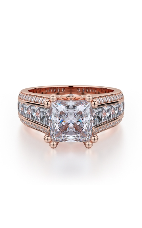 Michael M Princess Engagement ring R401-2 product image