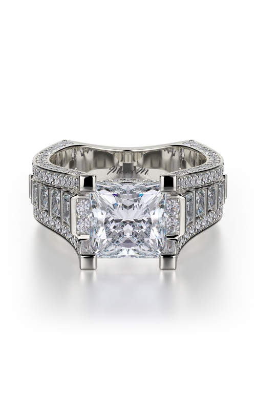 Michael M Princess Engagement ring R424-2 product image