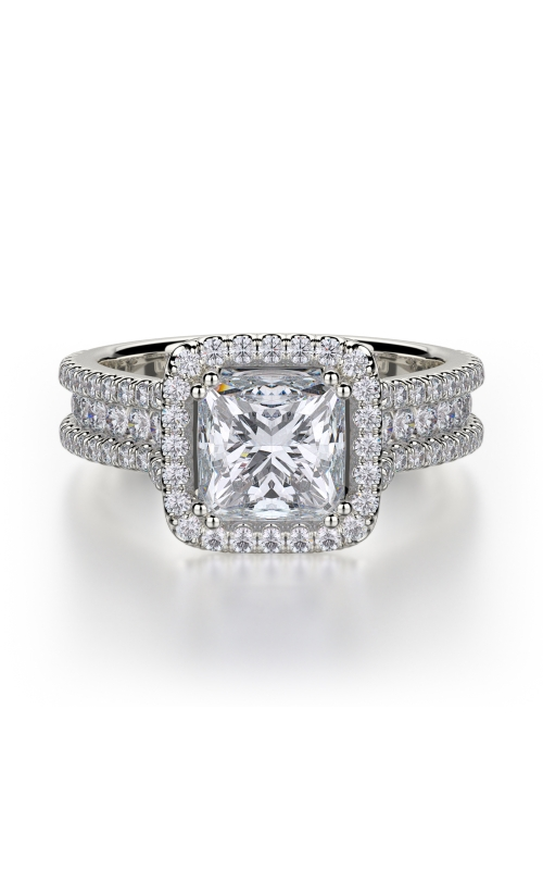 Michael M Princess Engagement Ring R466-2 product image