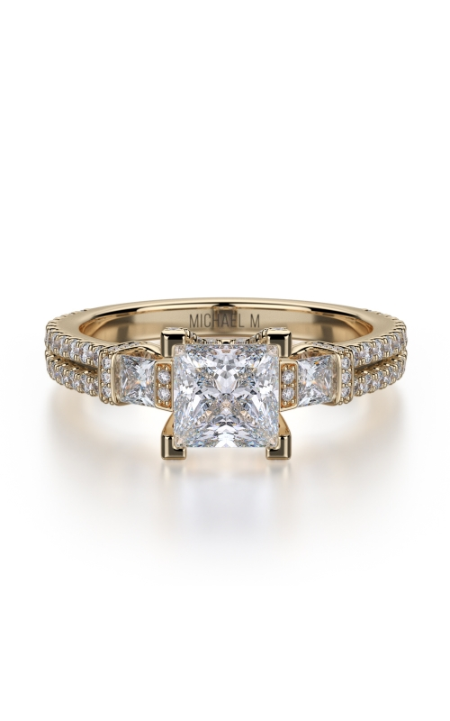 Michael M Princess Engagement ring R476-1 product image