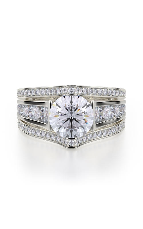 Michael M Stella Engagement Ring R417-2 product image