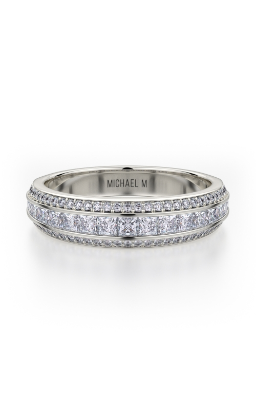 Michael M Princess Wedding Band R401SB product image