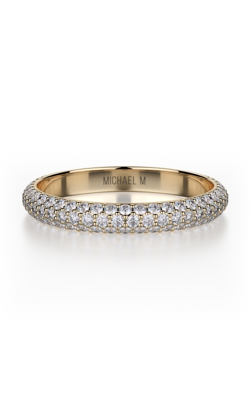 Michael M Crown Wedding band R699B product image
