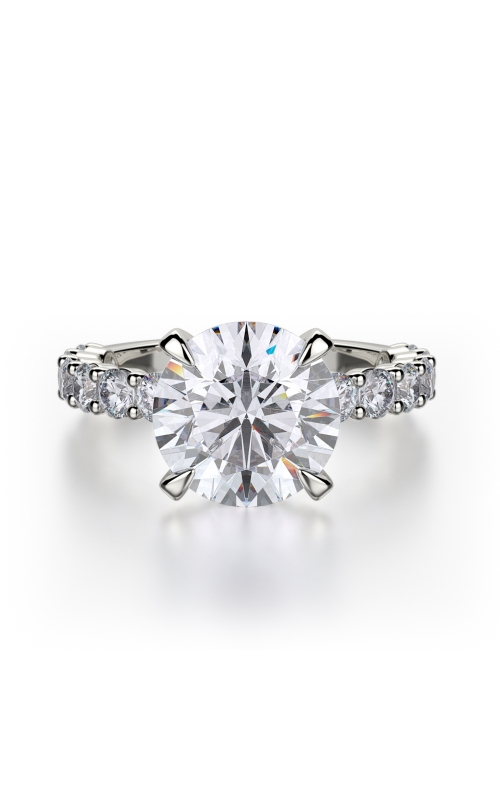 Michael M Crown Engagement ring R736-3 product image