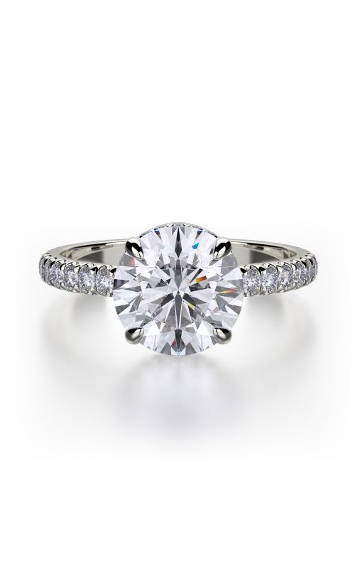 Michael M Crown Engagement ring R742-2 product image