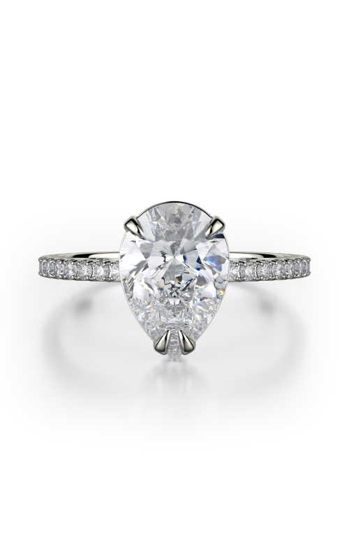 Michael M Crown Engagement ring R715-2PR product image
