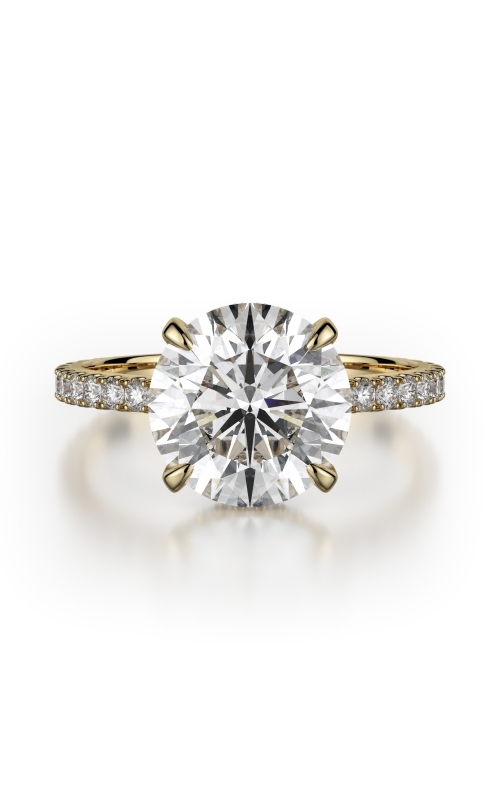 Michael M Crown Engagement ring R742-3 product image