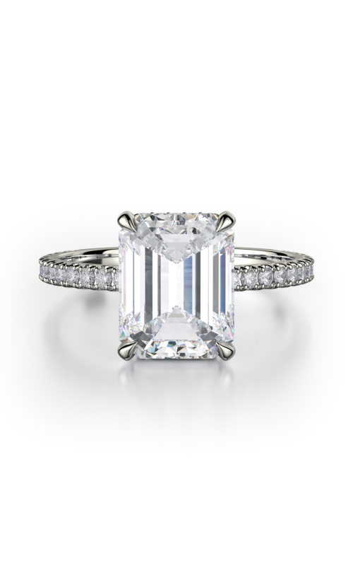 Michael M Crown Engagement ring R715-2EM product image