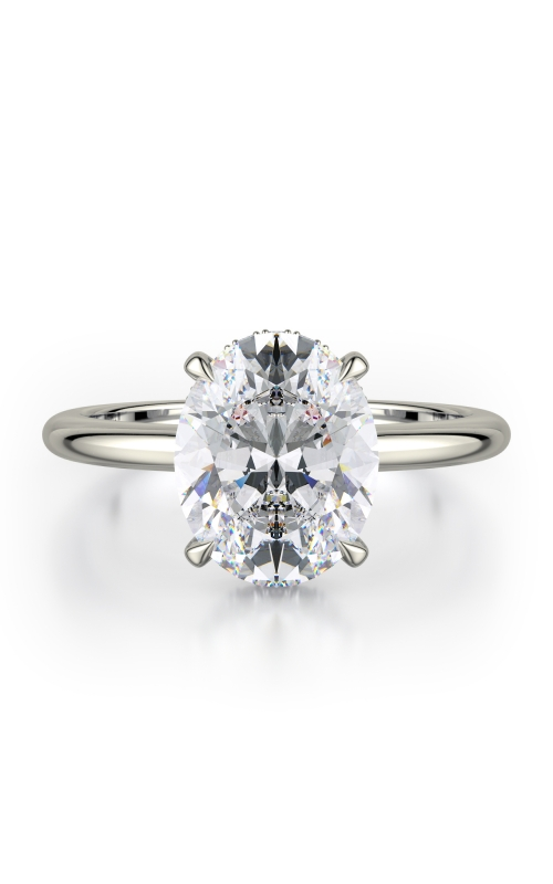 Michael M Crown Engagement ring R750-3 product image