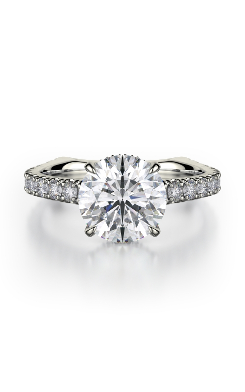 Michael M Crown Engagement ring R751-2 product image