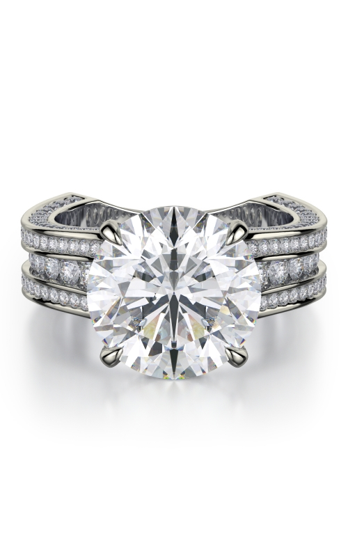 Michael M Crown Engagement ring R752-3 product image