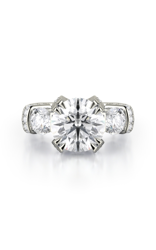 Michael M Couture Engagement ring R770-3 product image