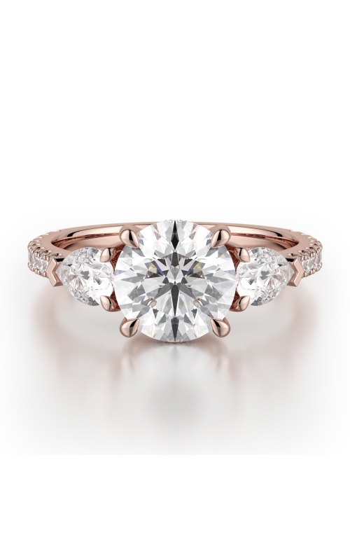 Michael M Trinity Engagement ring R758-2 product image