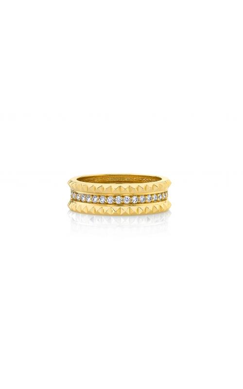 Michael M Tetra Pave Wedding Band B361 product image
