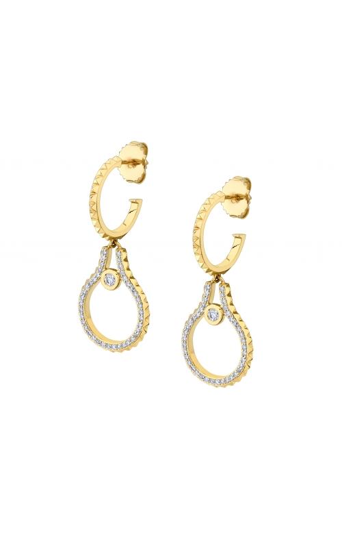 Michael M Pave Mini Signature MM Tetra Earrings ER375 product image