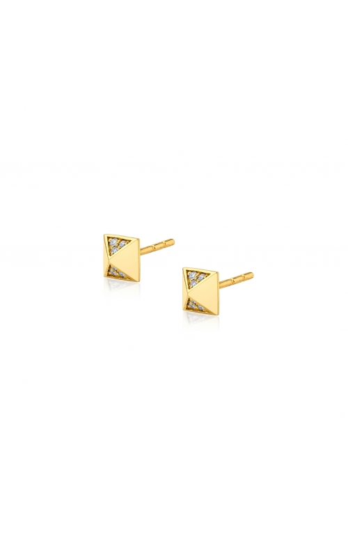 Michael M Tetra Foundation Pyramid Stud Earrings ER371 product image