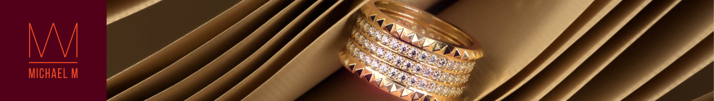 M Engagement Ring Collection by Michael M
