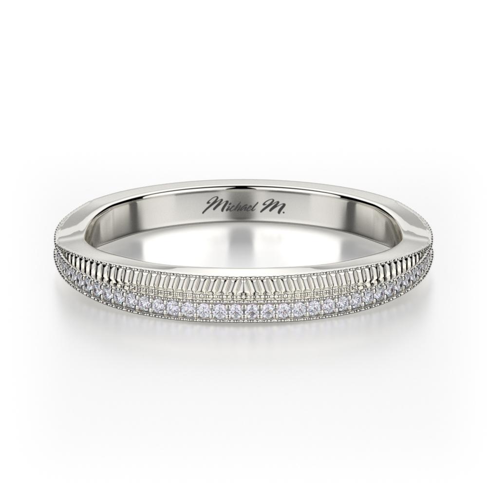 Michael M Wedding Band R575B product image