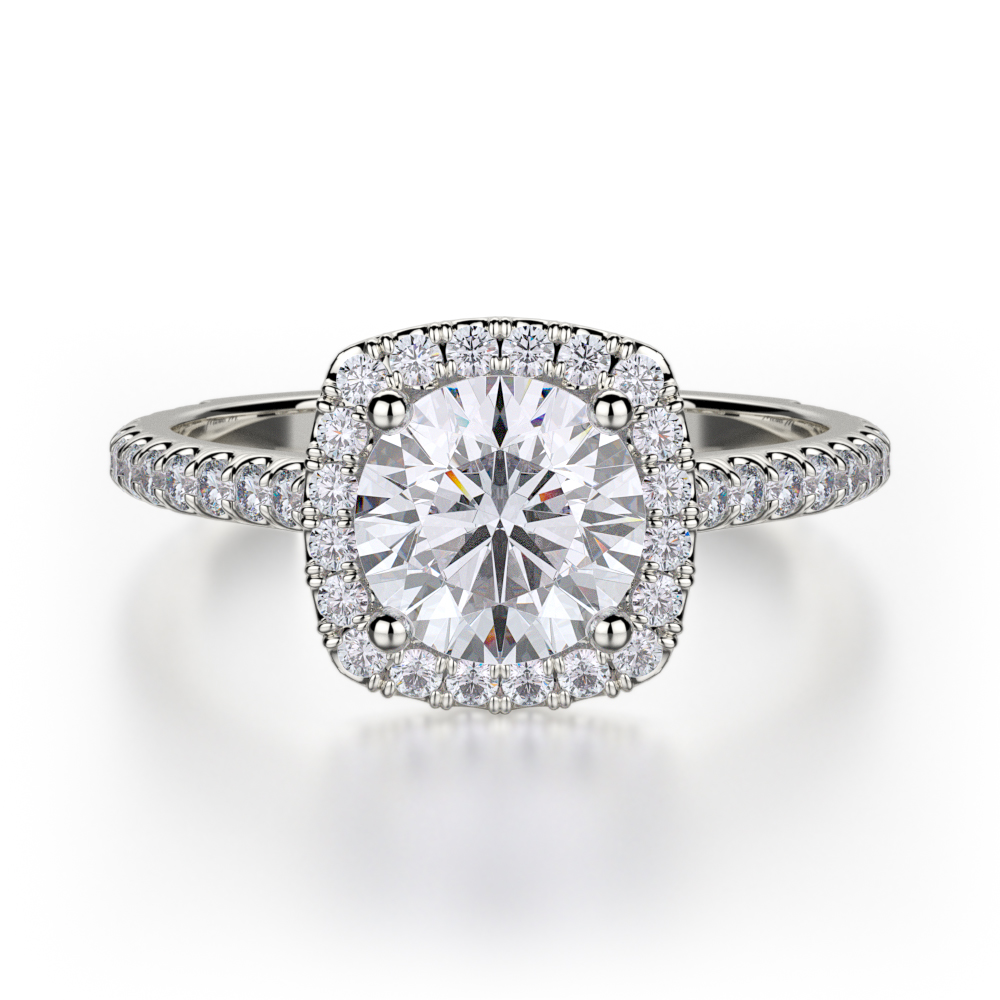Buy Michael M R539S1 Engagement rings MJ Christensen Diamonds