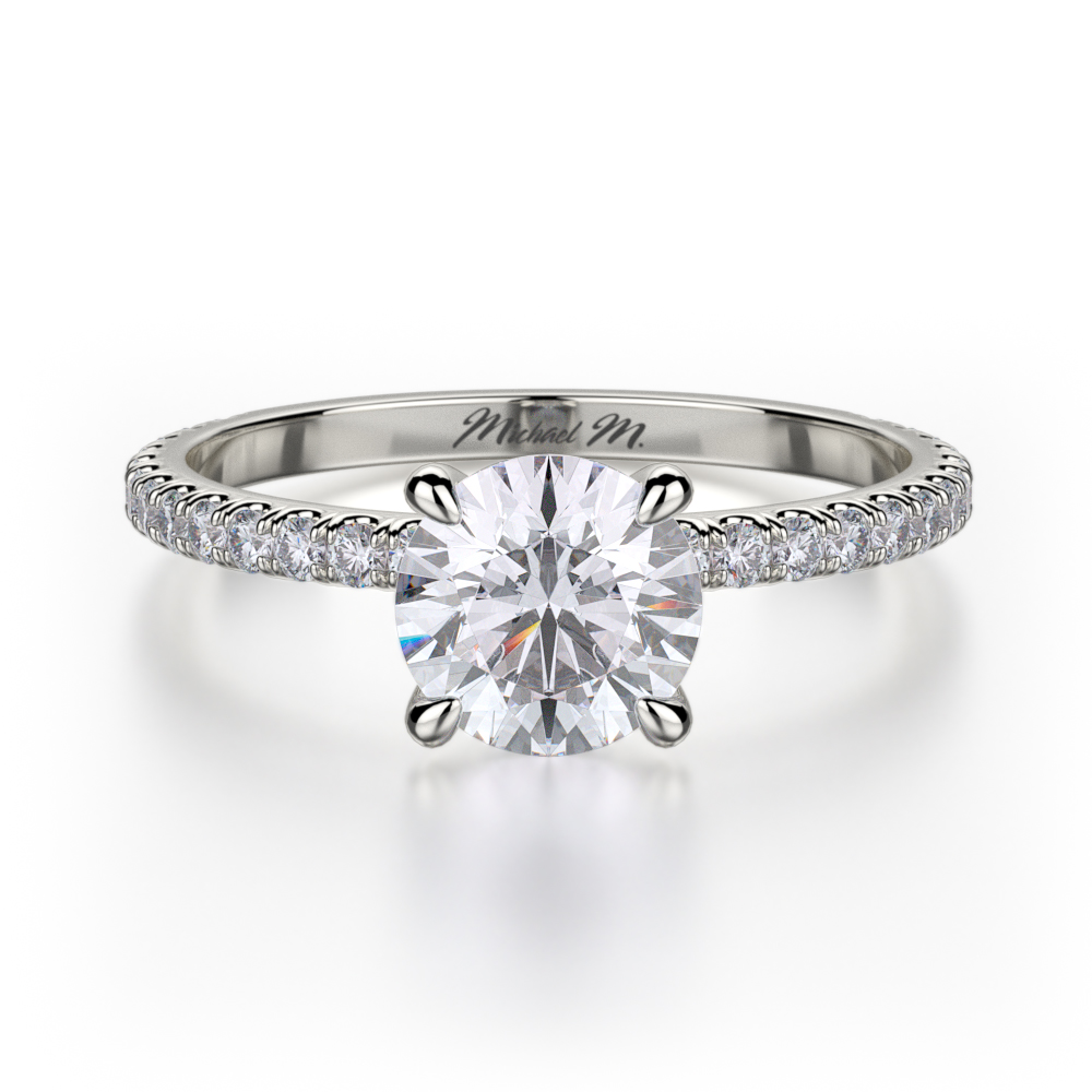 Michael M Crown Engagement ring R706-1 product image