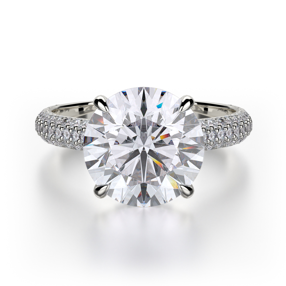 Michael M Crown Engagement ring R707-3 product image