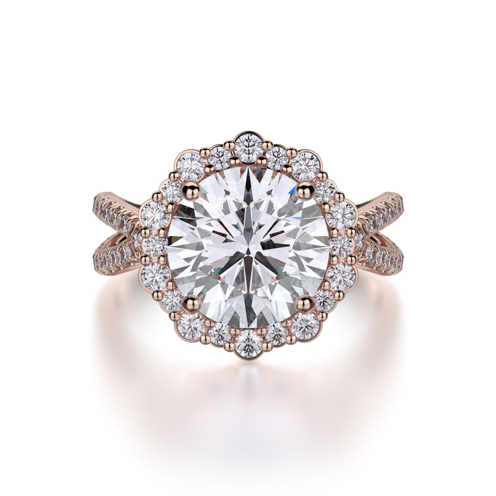 Michael M Defined Engagement ring R740-2 product image