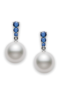 Mikimoto Earrings PEA 643NS W 10