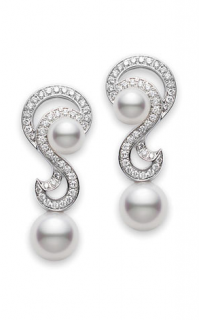 Mikimoto Earrings PEA912DW