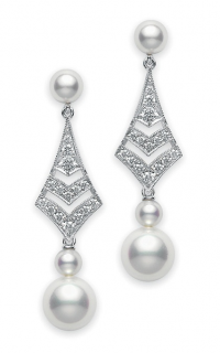 Mikimoto Earrings PEM109DW