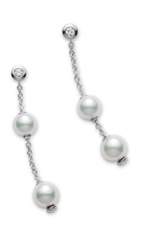 Mikimoto Earrings PEL644DW