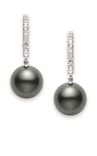 Mikimoto Earrings PEA1008BDW