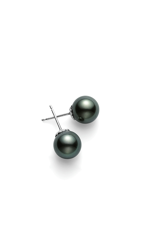 Mikimoto Black South Sea Earrings PES1102BW product image