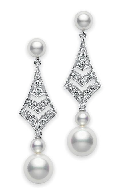Mikimoto Earrings PEM109DW product image