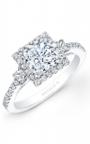 Natalie K Princesse Engagement Ring NK20305-W